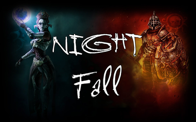 Story Concept: Night Fall by Generalorder4