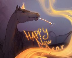 Happy New Year! by Chistokrovka