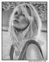 Charlize Theron by gavinodonnell