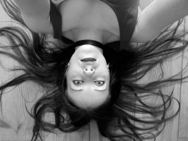 upside down me by Moolver-sin