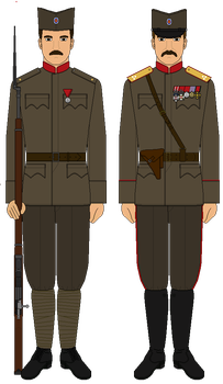 Serbia WW1 uniforms by Panzer2918