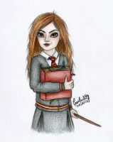 Hermione Granger by carla-ng