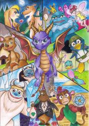 Year Of The Dragon by HerOnceWhiteWings