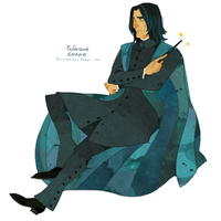 Snape by freestarisis