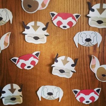 Avatar Animal Companions by Paper-Crafty