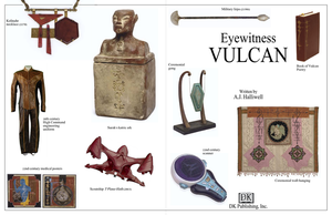 Eyewitness Vulcan: Cover Page by AJHalliwell