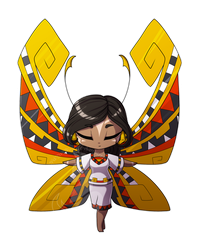 Themed Fairy - Aztec by FuyusFox