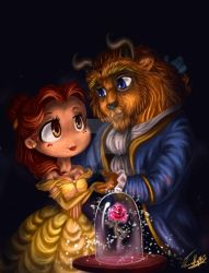 Beauty and the Beast by Chibi-Joey