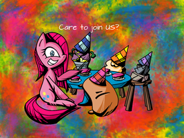 Care To Join Us? by TheRandomJoyrider