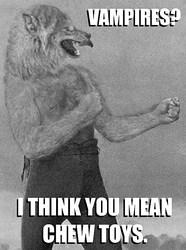Overly Manly Wolfman by Viergacht