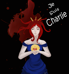 Je Suis Charlie  by Maggy-mitchi