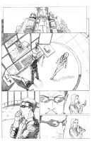 X-Men Page 1 by Ari-Spike-Nadelman