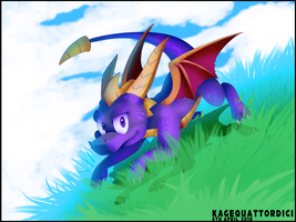 Welcome back, Spyro by KageQuattordici