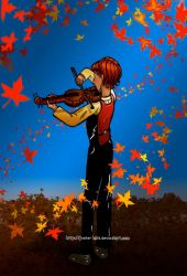 Autumn Music by jesterbells