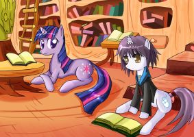 twilight and yuki (finished) by roshichen