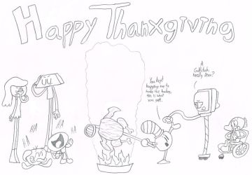 A Jameson Thanxgiving by thecrazyworldofjack