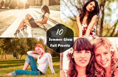10 Summer Glow Fall Presets Photography by sfahmad2kf