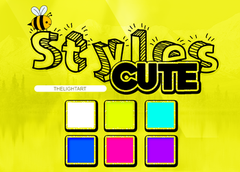 +STYLE CUTE PACK by ThelightartOFC