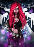 Katarina from league of legends by Annas-2Art2