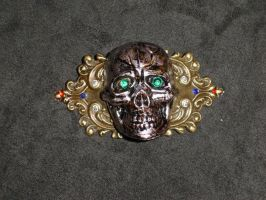 Skull Barrette by Batalha-Enterprises