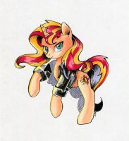 Sunset Shimmer by Maytee