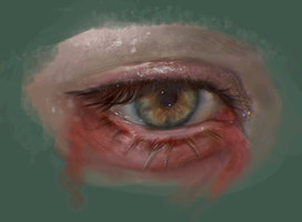 Eye study by morgyuk