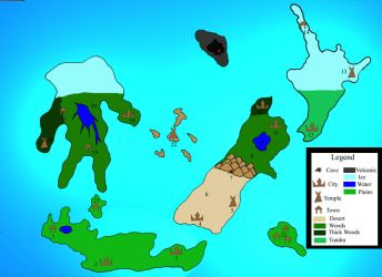 Imperial Isles Map by juug