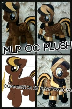 MLP Custom OC Plush by Ponypassions by ponypassions