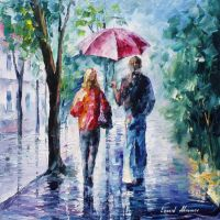 Feelings Of The Drizzle by Leonid Afremov