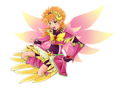Valkyrie Cure Bloom by Aijihi
