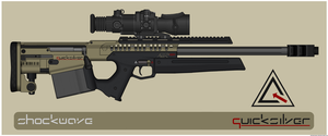 Quicksilver Industries: 'Andean' Sniper Rifle by Shockwave9001