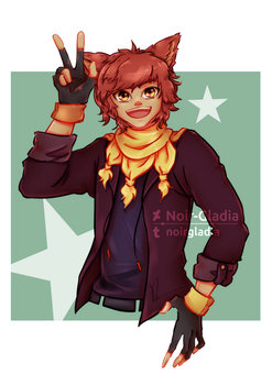 [Comm] Aiden by Noir-Gladia