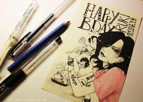 Ruki Bday 01.02.2016 by KaZe-pOn