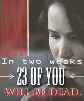 23 of you will be dead by BooksandCoffee007