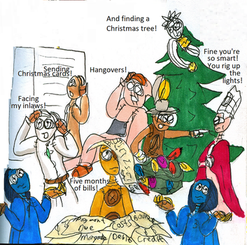12 Pains of Christmas by JgalDragonborn