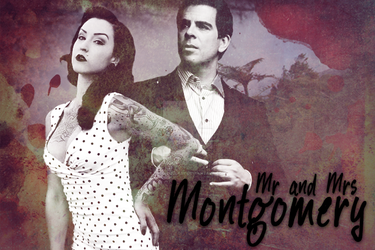 Mr. and Mrs. Montgomery by JinxdLullaby