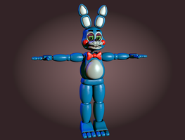 Toy Bonnie v1 W.I.P2 by CoolioArt