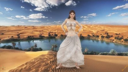 Dika in the desert by lady quantum by LoneStranger