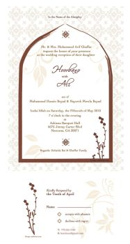 Wedding Invitation by whisperedpeace