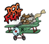 T-Shirt Decal: Dog Fight