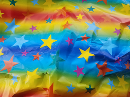 Star Wrapping Paper by Silvermoonlight217