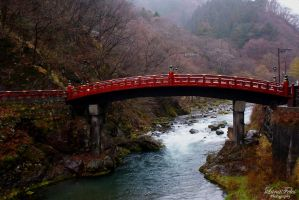 Nikko Bridge by LunaFeles