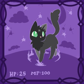 The Witches cat by Atobe333