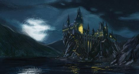 Hogwarts by hot-fish