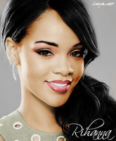 Rihanna by ilayanet