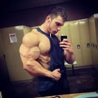 Musclemorphed SelfCam Hunk20 by free42dream