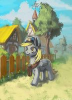 rural postman by lexx2dot0
