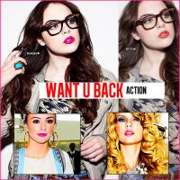 . Want U Back action by FlawlessWorld
