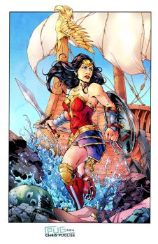 Wonder Woman WWII by CPuglise9