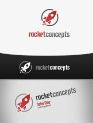 Rocket Concepts Logo by jovargaylan